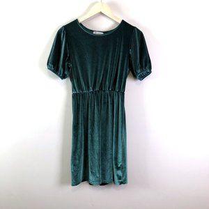 Old Navy Girls Velvet Emerald Holiday Dress Sz XL